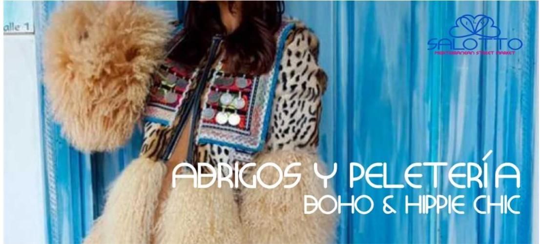 Coats and Fur Boho Chic