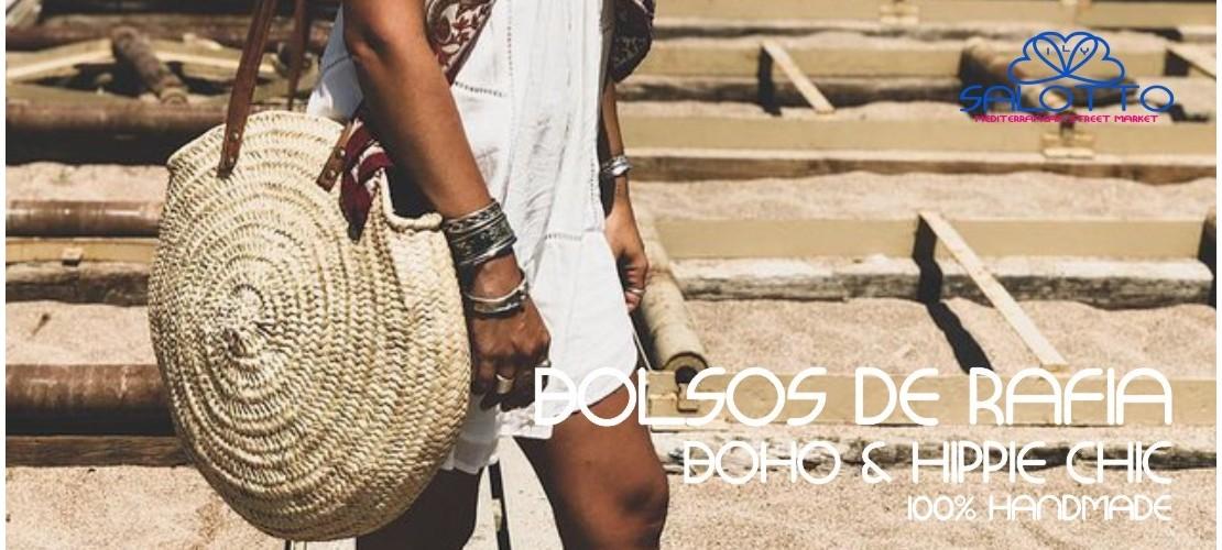 Boho Chic Raffia Bag